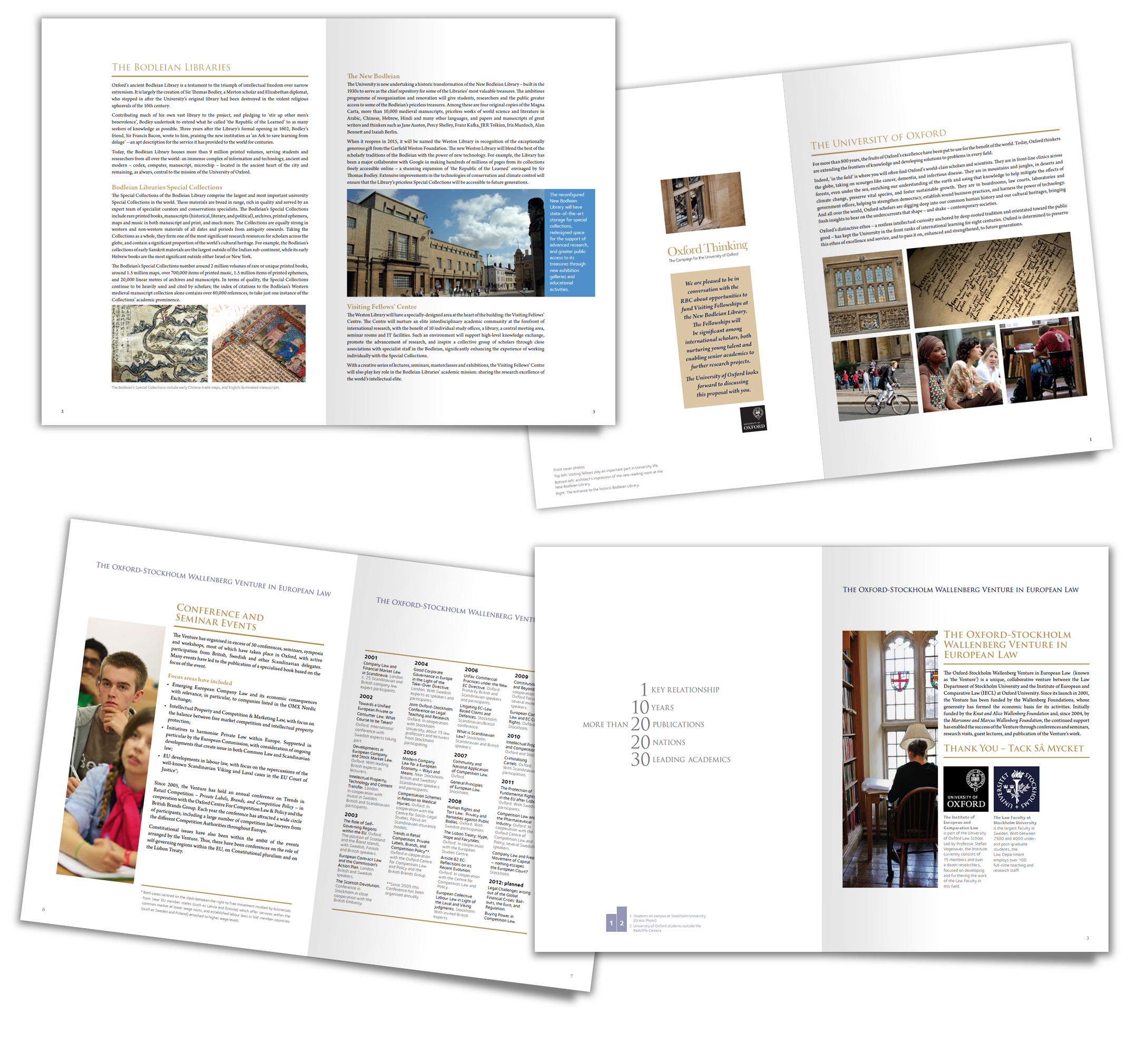 Oxford University, Oxford Thinking, proposals, reports, design, UK, education
