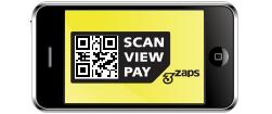 mobile technology, QR code, micro-site, logo design