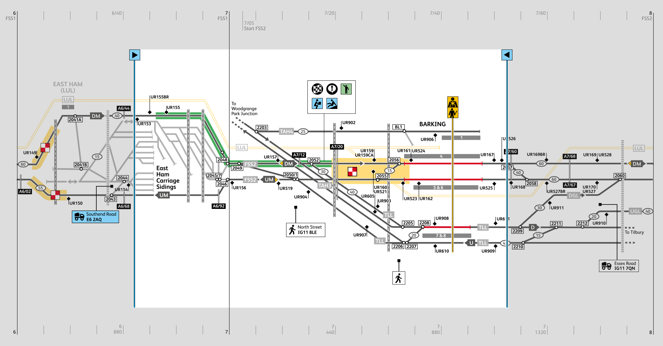 East Anglia, Network Rail, Orbis, map, schematic, visual language, design