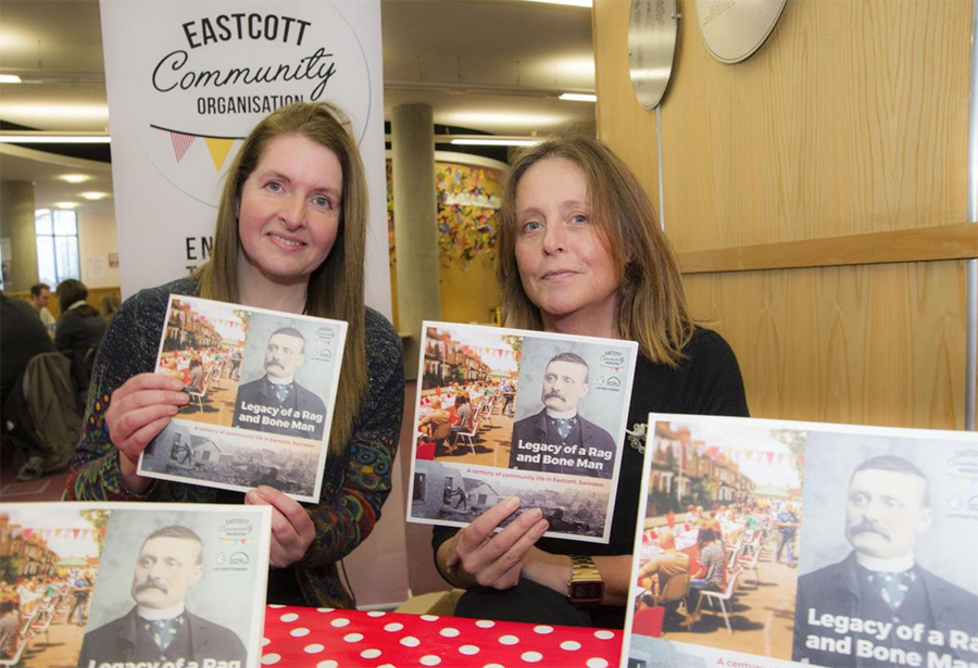 book launch photo Eastcott Community Organisation