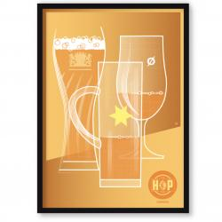 The Hop Inn Poster Trilogy – lager